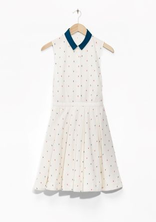 Other Stories Rachel Antonoff Swiss Dot Dress
