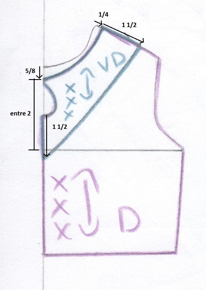 1.- Primero debes recortar las plantillas básicas del talle( si no ...