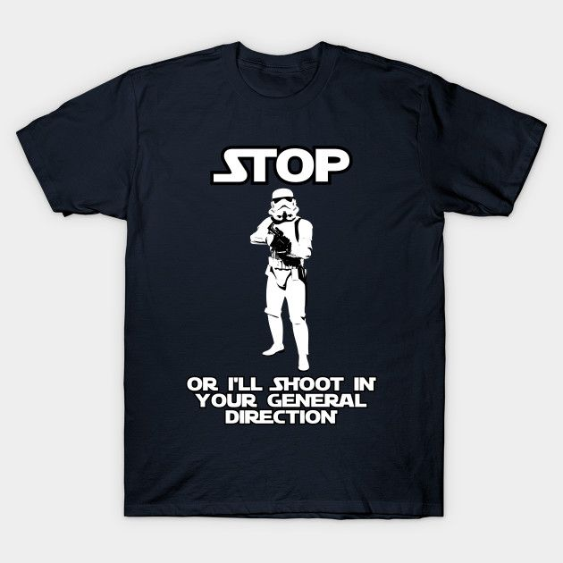 Star Wars fandom knows that the Imperial Stormtroopers in the Galactic Empire have really declined since the days of the Clone Wars – looks like Boba Fett is the only one who kept up his skill set – buy this funny T-shirt for your favorite science fiction geek (even if it's you)