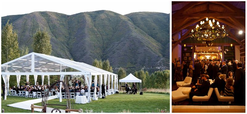 The Roaring Fork Club In Basalt Offers Indoor And Outdoor Wedding Locations Is Suited For