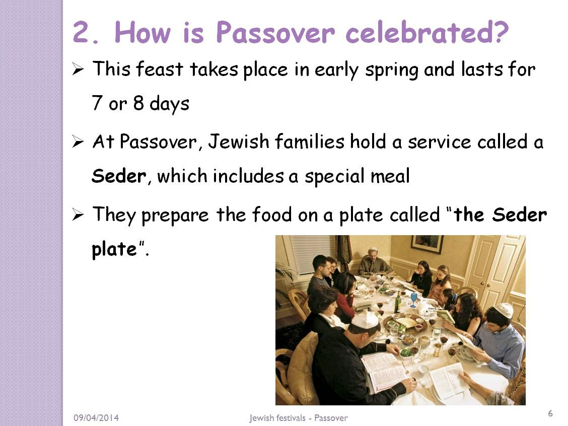This Lesson Aims To Explain The Meaning Of Passover And