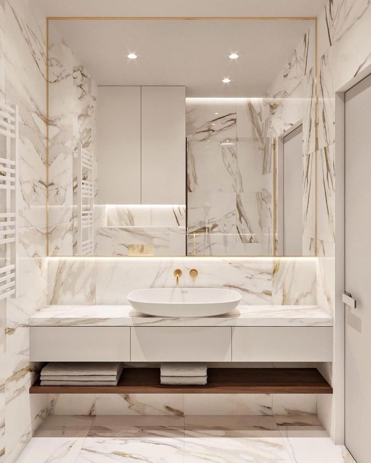 Marble and gold perfect combination right neiman