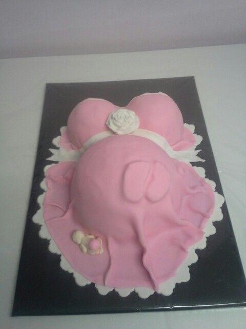 Roze babybuik