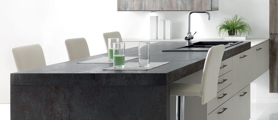 plan de travail en granite prix cheap cuisine blanche. Black Bedroom Furniture Sets. Home Design Ideas