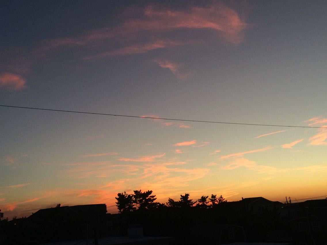 September Sunset Lbi Nj Photo Taken By Joe Jds With Images Sunset Sunset Photos Photo