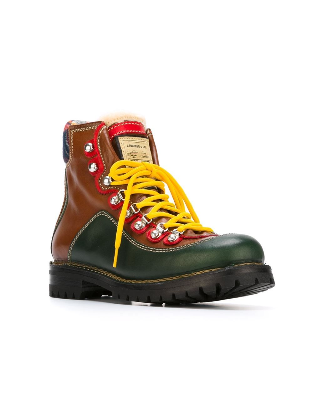302798f99d3b Dsquared2 Panelled Hiking Boots - A.m.r. - Farfetch.com | shoes and ...