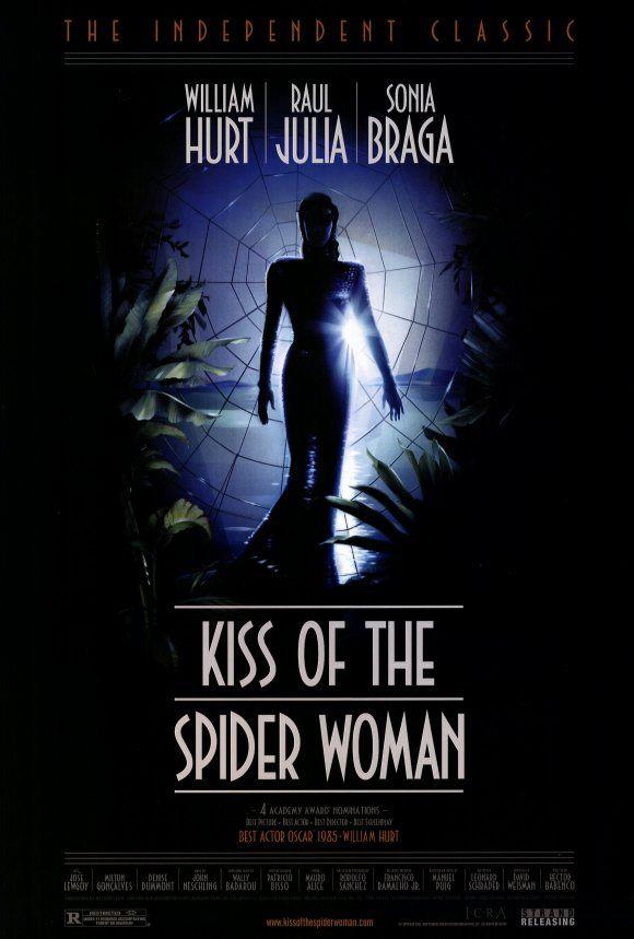 O BEIJO DA MULHER ARANHA | Mulheres aranha, Cartazes de filmes ...