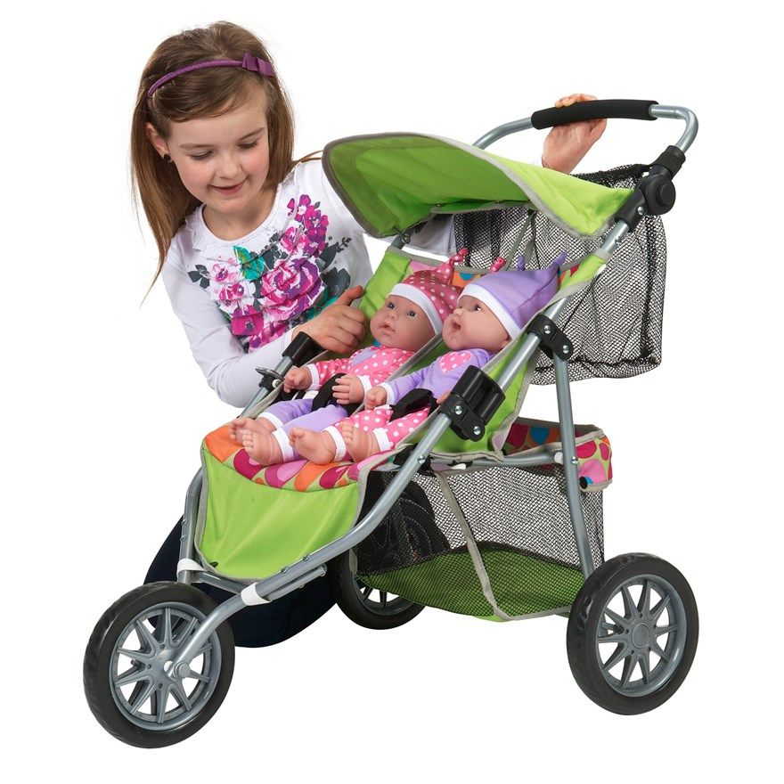 Dimples Doll's Twin Jogger Dolls prams, Baby strollers