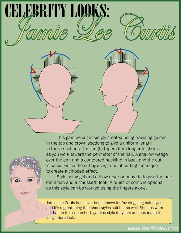 How To Jamie Lee Curtis Haircut Google Search Hair Pinterest