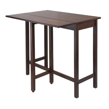 Winsome Lynnwood Drop Leaf High Table Folding table Functional