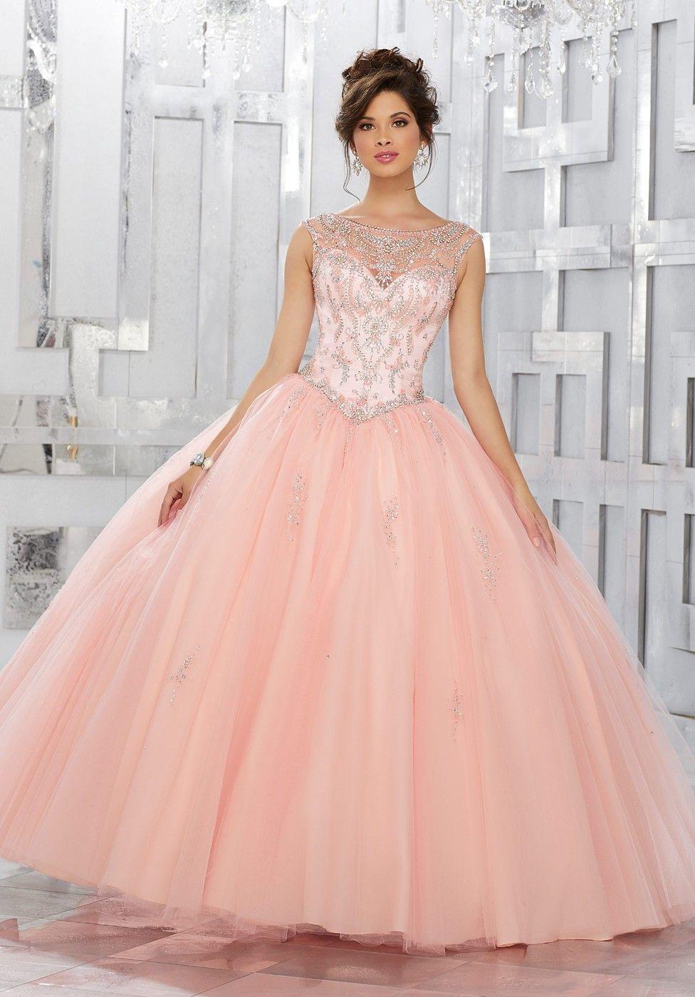 8eb698fb2e Image result for quinceanera dresses peach