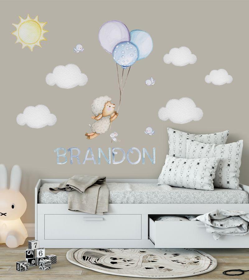 Wandsticker Kinderzimmer Junge