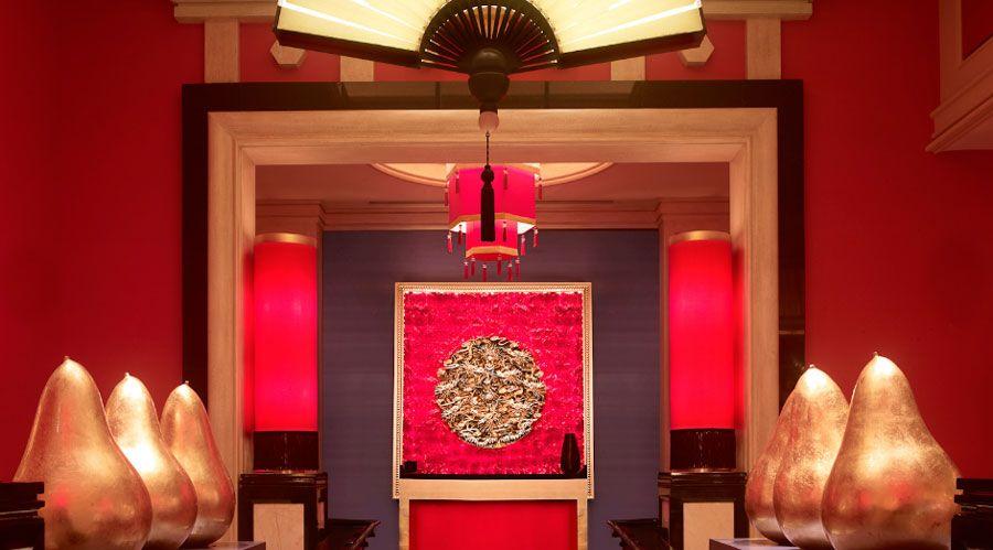 Modern Asian Restaurant Interior Design Of Wazuzu At Encore Las