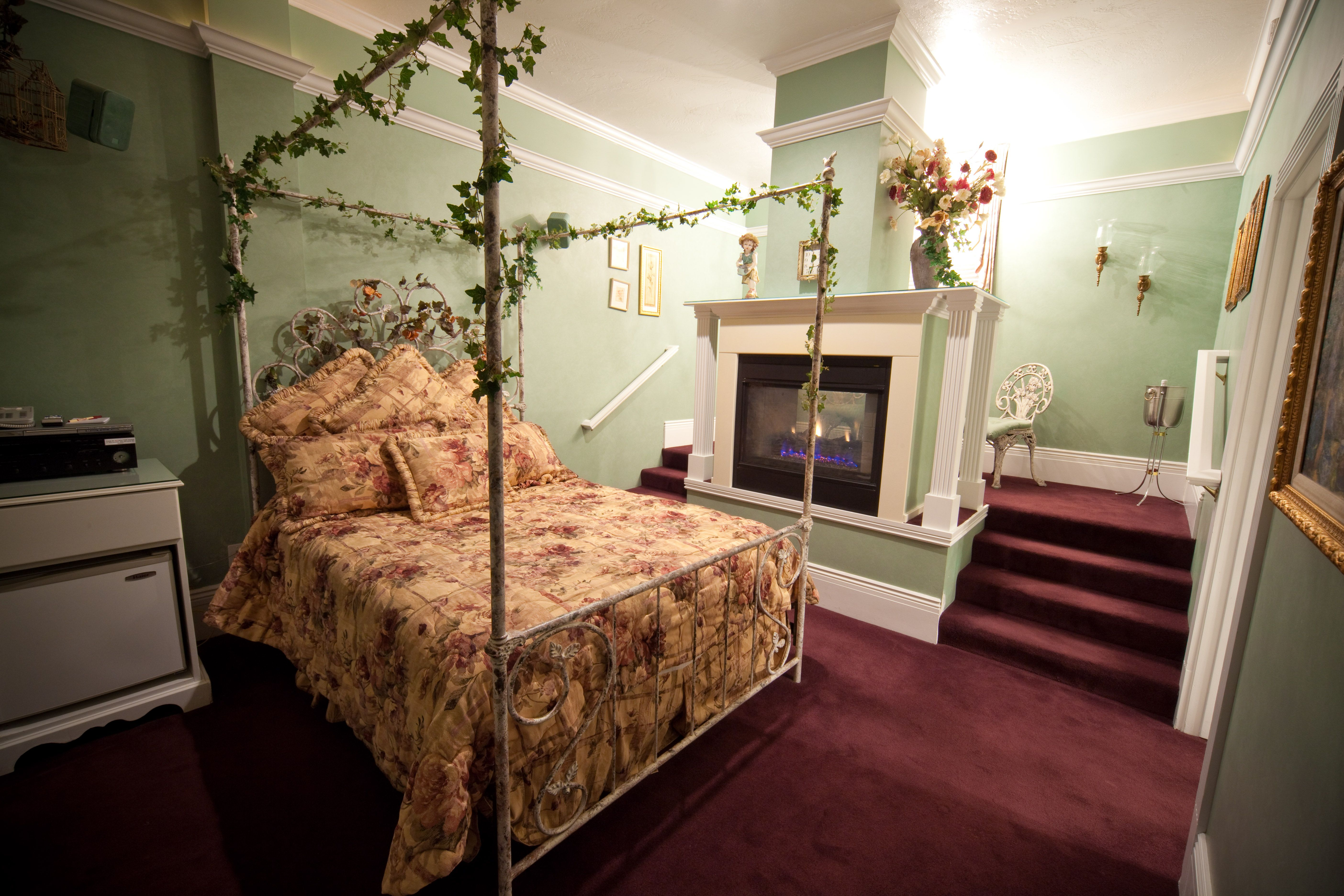 subtle lighting. Subtle Lighting. Lighting And Elegant Decor Complete This Traditional Suite. Relax In The