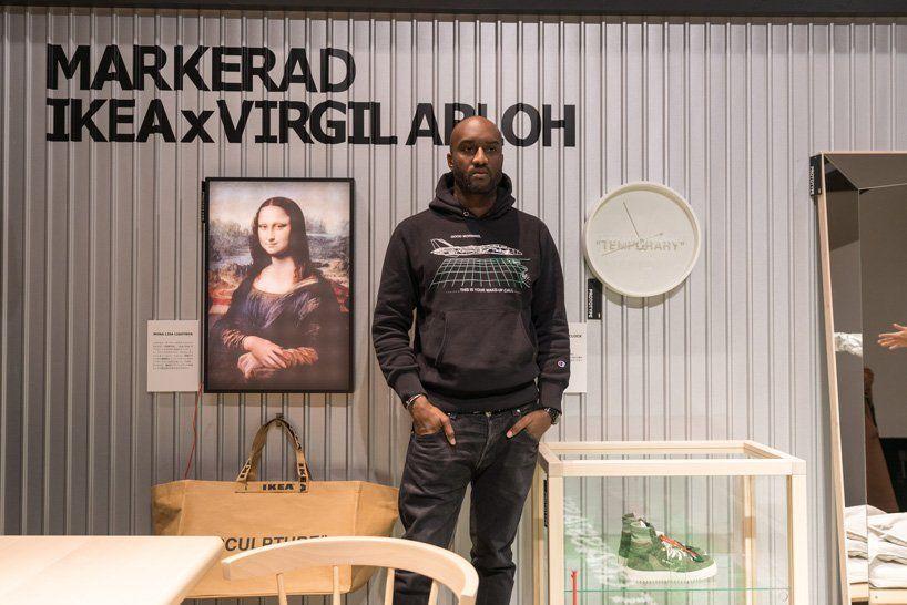Ikea Shoppers Scramble For Designer Goods By Kanye West S Protege Virgil Abloh Virgil Abloh Ikea Off White Designer