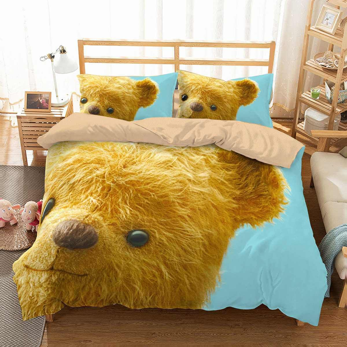 3d Customize Christopher Robin Bedding Set Duvet Cover Set Bedroom