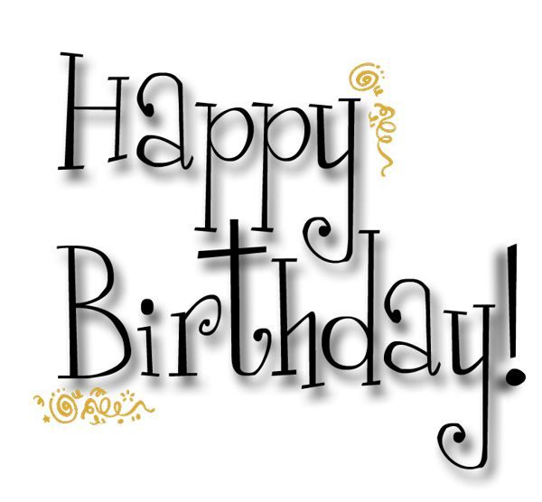 printable happy birthday cards black and white – Black and White Birthday Card