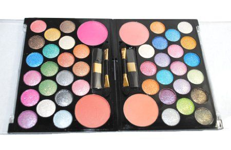 Type 4 bold colors with shimmer sparkles for a secondry 1. Amazon.com: 32 Neon Eyeshadow Makeup Palette Kit Set: by Eye