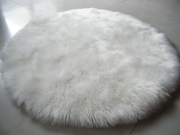 Sheepskin Chair Cover Seat Pad Soft Carpet Hairy Plain Skin Fur Plain Fluffy Area Rugs Bedroom Faux Carpet Mat Ro Soft Carpet Textured Carpet Bedroom Area Rug