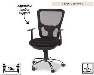 Groovy Office Chair For 49 99 Aldi Special Buys 25 1 Chair Machost Co Dining Chair Design Ideas Machostcouk