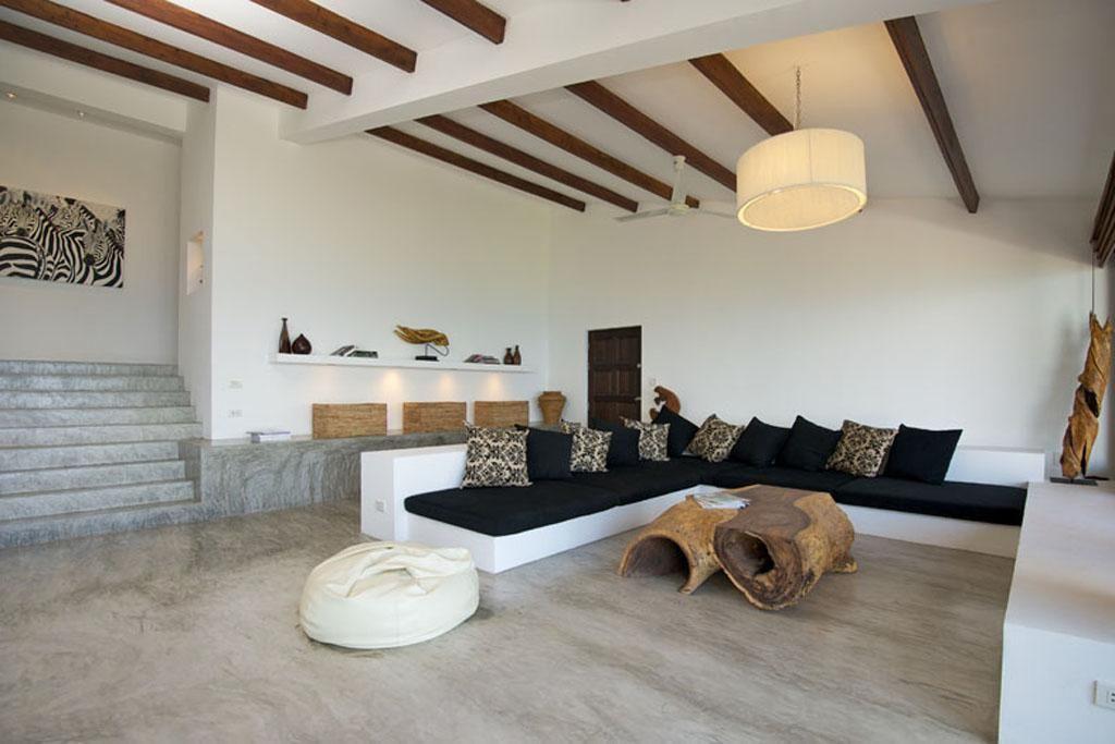 White Sofa Design Seaside House Modern Tropical Home Design With Ocean View Home  Design