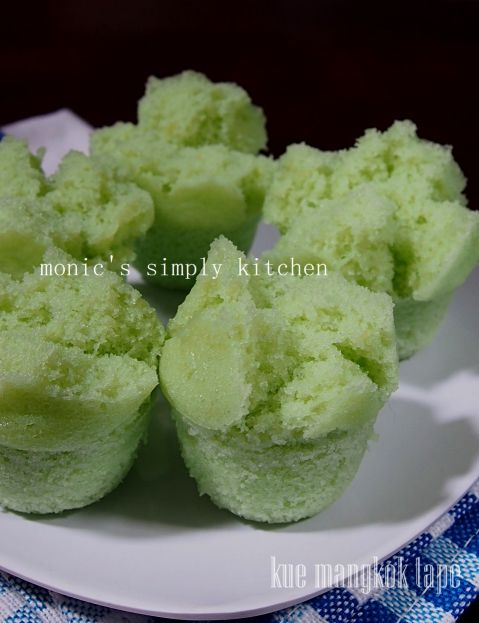 Kue Mangkok Kapas Steamed Rice Cake Steamed Cake Cake Recipes