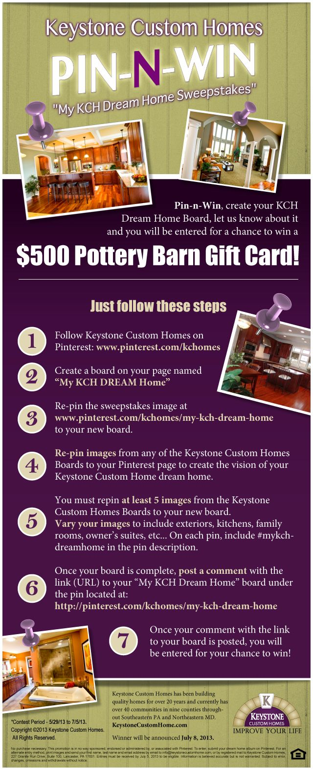 $100 GIFT CARD Pottery Barn, Williams-Sonoma, West Elm, Mark ...
