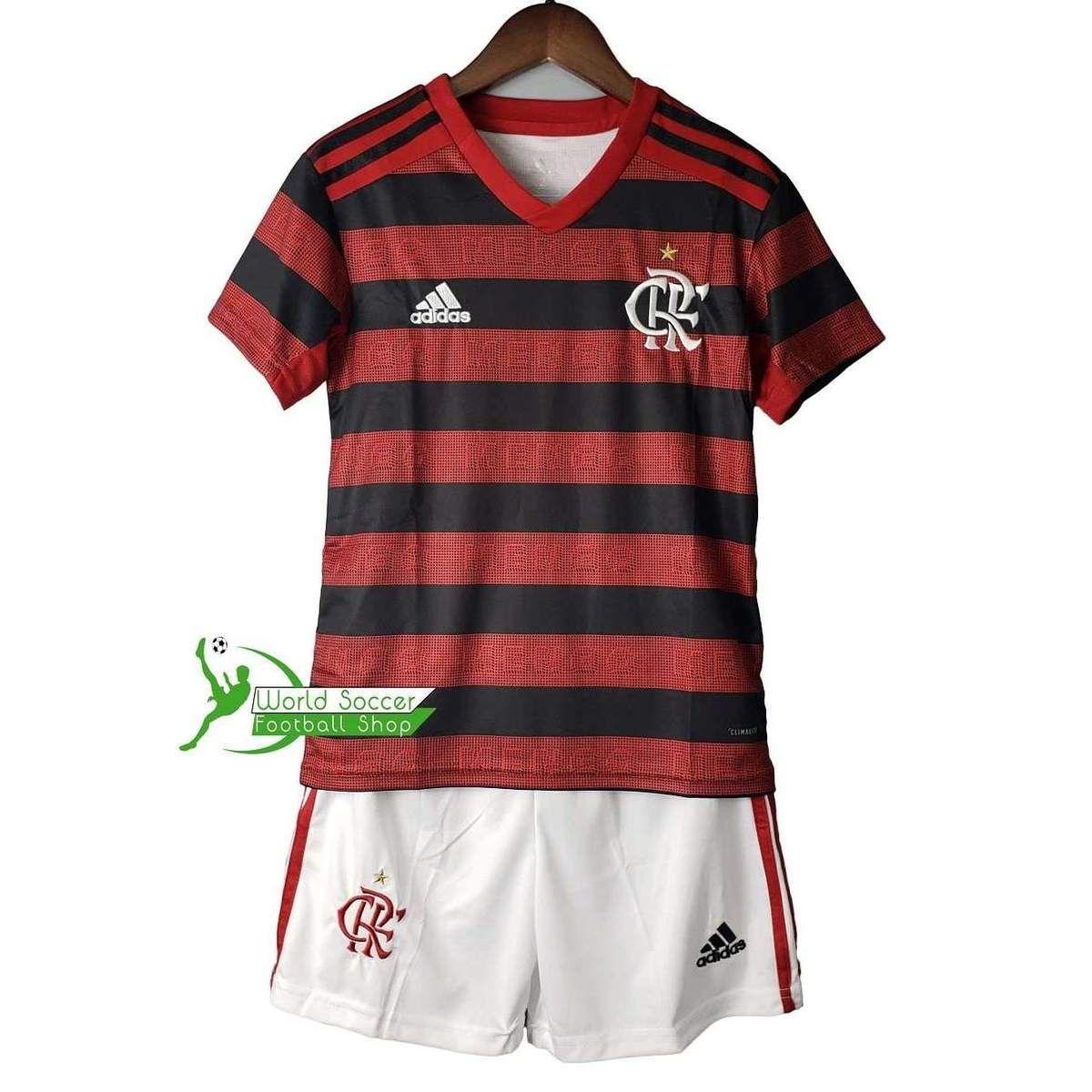 Clube De Regatas Do Flamengo Football Team Adidas Home Boys