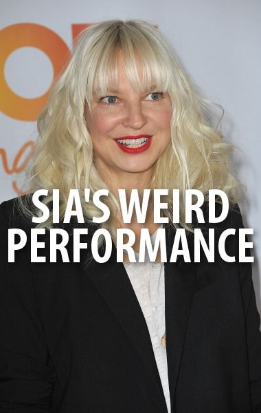 Pop superstar sia came by ellen to perform her song chandelier and pop superstar sia came by ellen to perform her song chandelier and she did mozeypictures Images