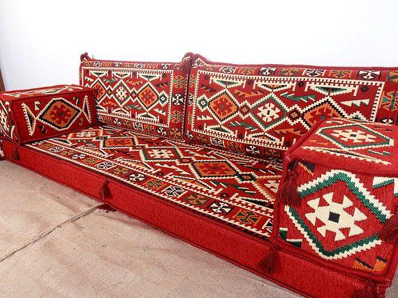 Arabic Style Majlis Floor Sofa Set Couch Oriental Seating Ethnic