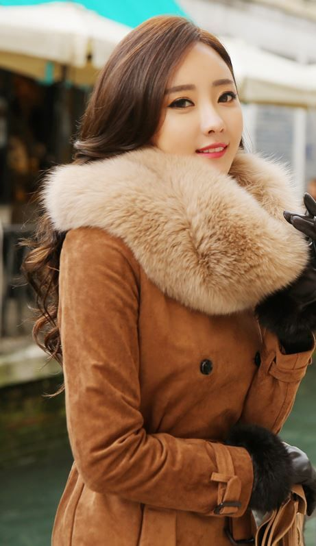 5ddcdca8e05 Plus Size 4XL 5XL Winter Sexy Women Mink Fur Rabbit Fur Coat Ladies Pink  White Faux Fox ...