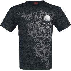 Spiral Skull Scroll T-Shirt Spiral DirectSpiral Direct