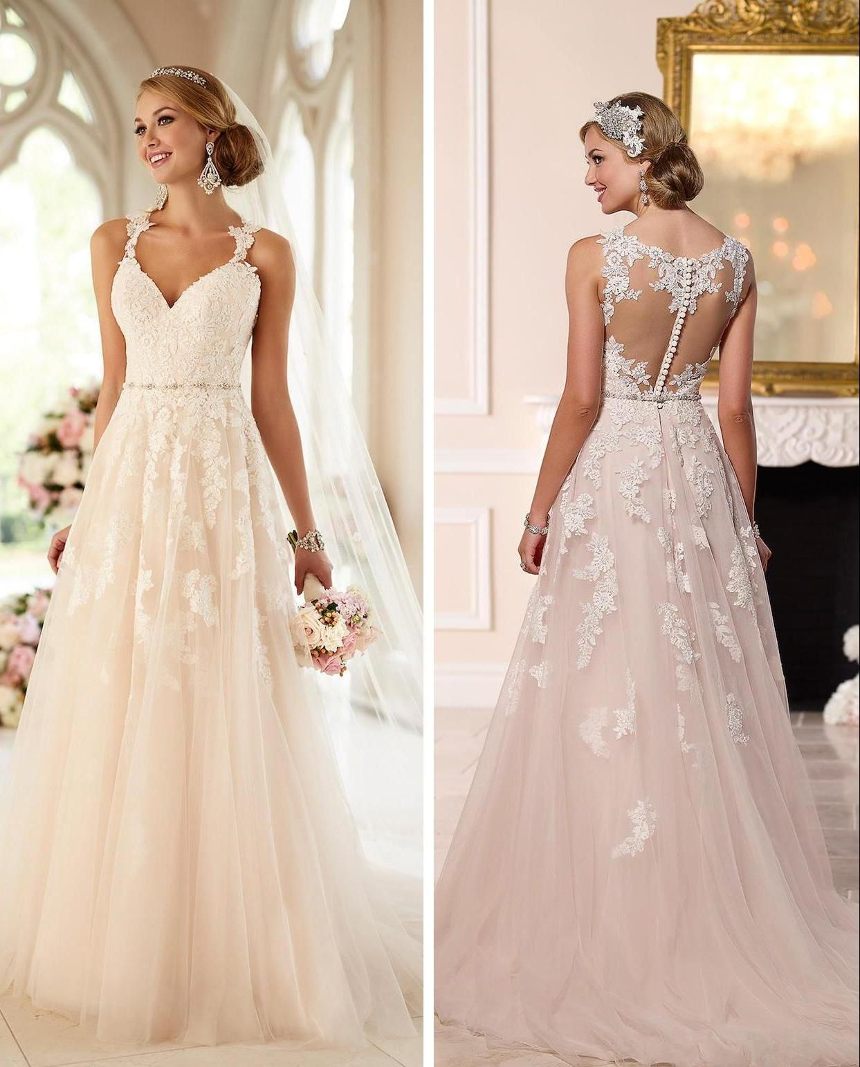 31 Incredible Lace Wedding Dresses Ideas in 2020 Wedding