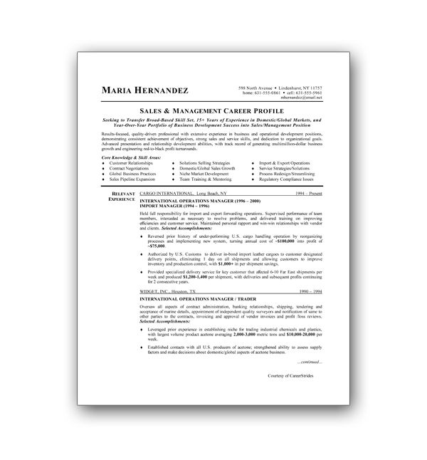 free resume templates from the professionals  chronological browse through our free