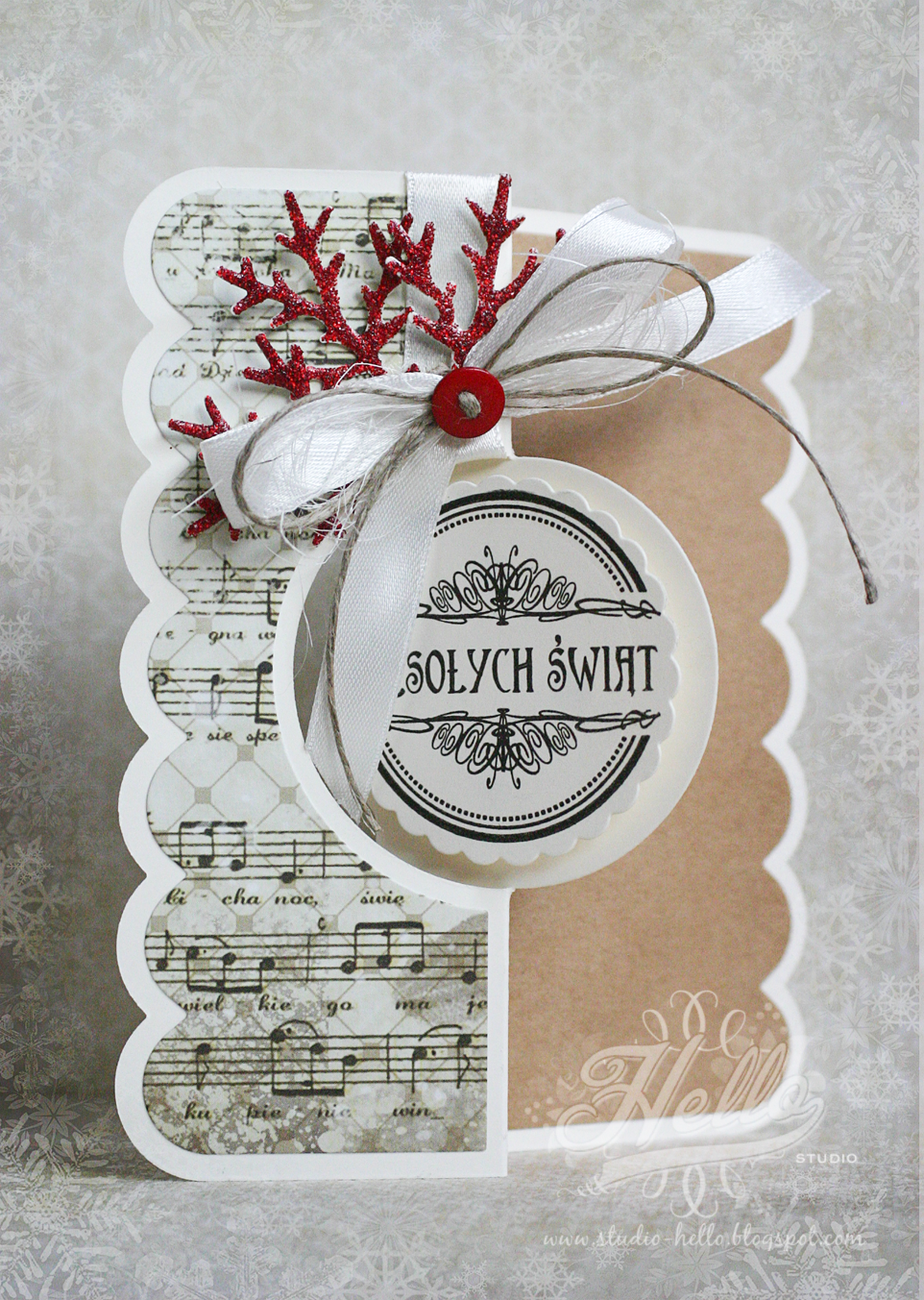 Christmas Card - Scrapbook.com - Lovely interactive card ...