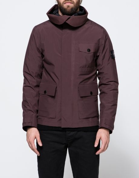 Tank Shield Multi Layer Fusion Technology Short Jacket from Stone Island.