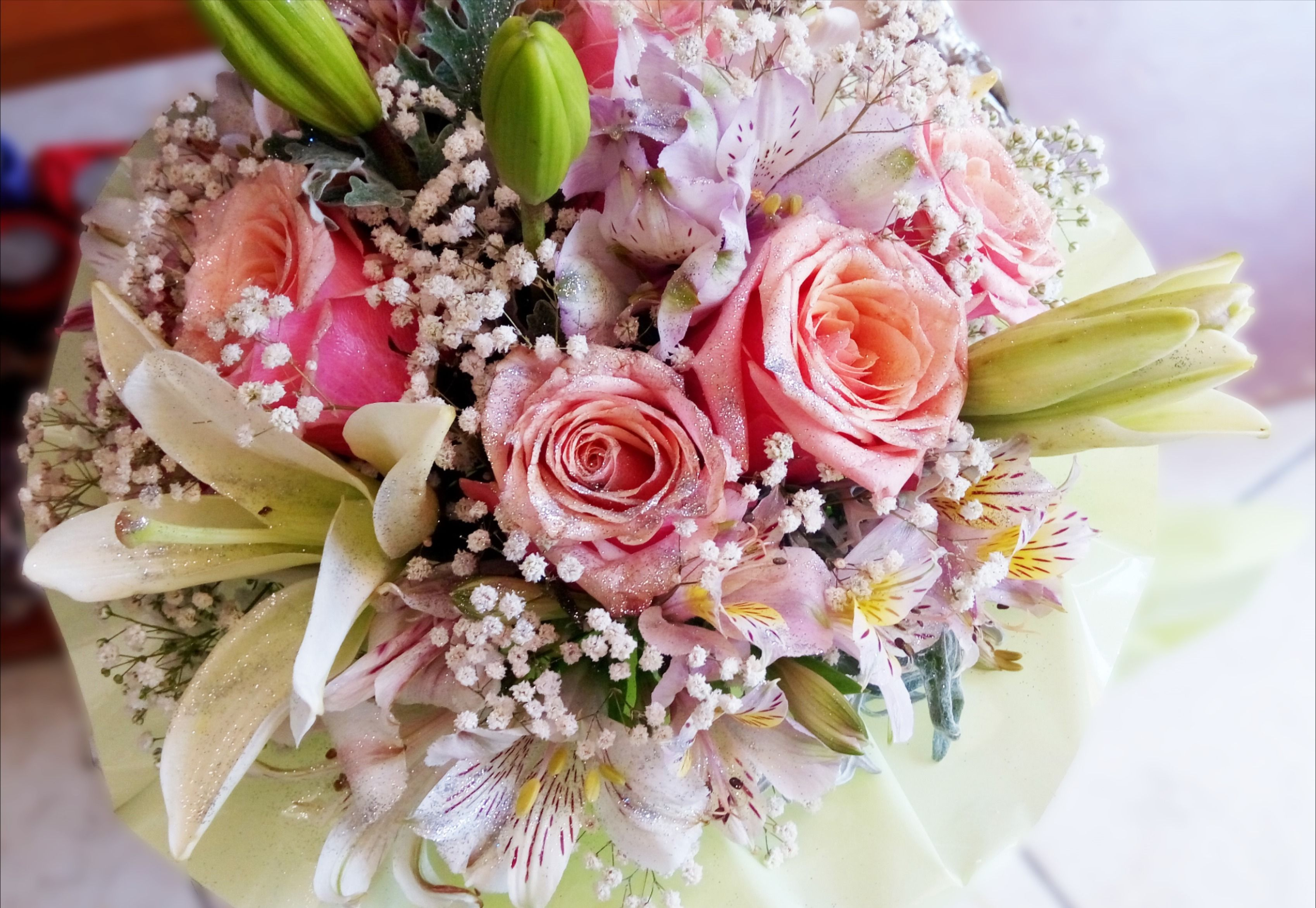 Flowers don't tell. They show.🌸💕 #cvjecarnicasplit #dostavacvijeca #besplatnadostava #cvijecesplit #flowershop #floristic #floweraddict #flowerartist#flowerstagram #instaflower #instaflorist #decoration #love #buquet#poklon