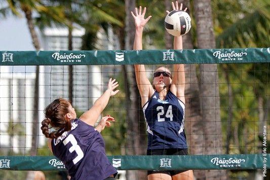 Hawai I Pacific University Athletics Volleyball Storms Waikiki Beach College List Waikiki Beach Athlete