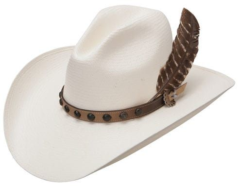 Stetson Men s Natural Broken Bow 10X Straw Hat  e0ada9d5fa45