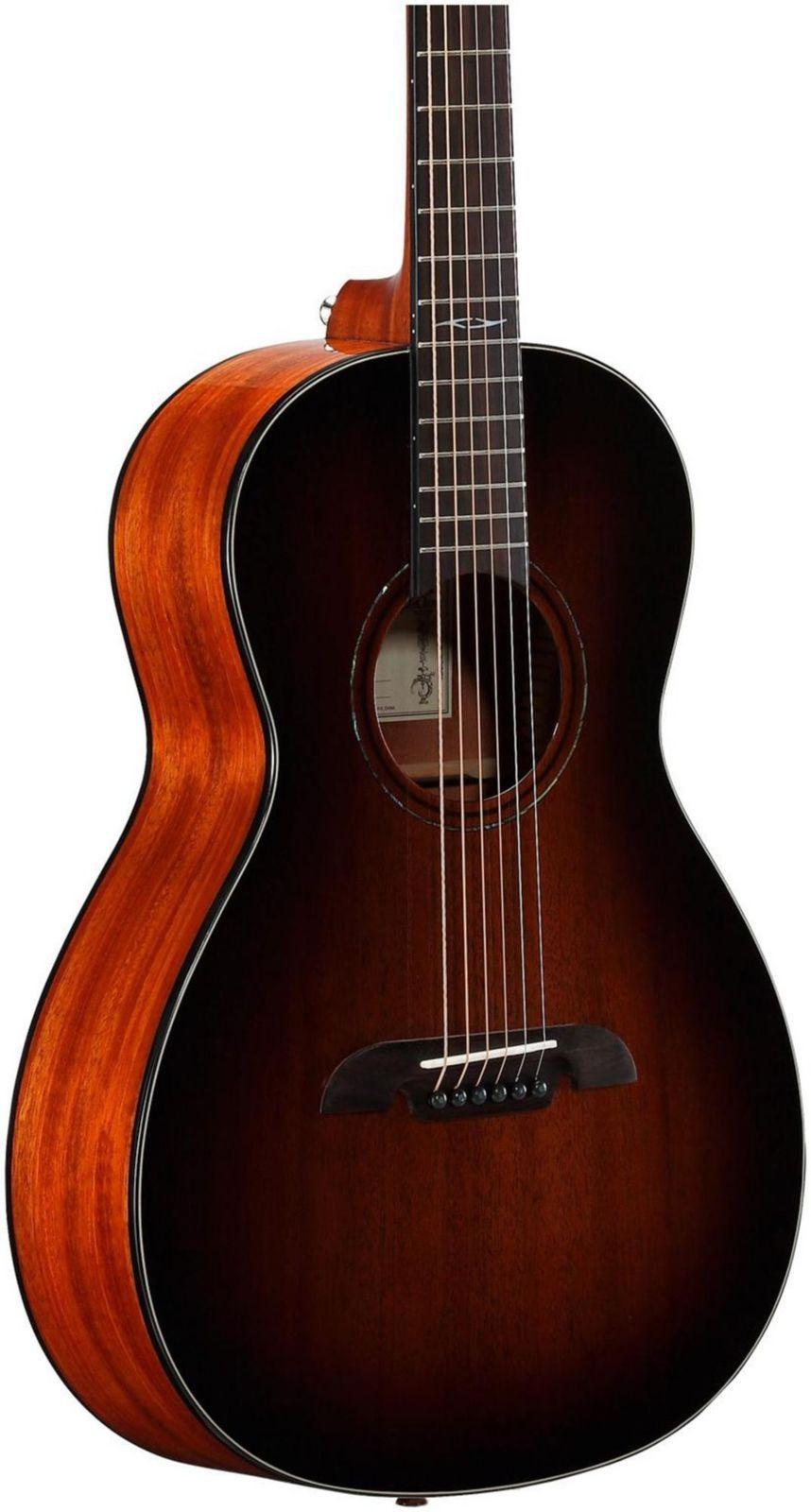 alvarez ap66shb parlor acoustic guitar shadow burst guitarras guitarras. Black Bedroom Furniture Sets. Home Design Ideas