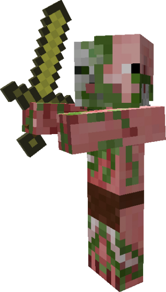 Google Image Result For Http Media Giantbomb Com Uploads 6 64152 1676250 342px Zombiepigmsword Png Minecraft Mobs Minecraft Toys Minecraft Costumes