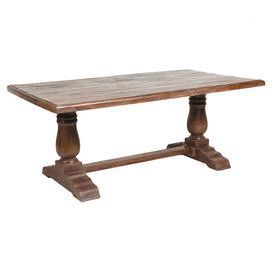 Reclaimed wood dining table should seat 6 product for Dining table construction