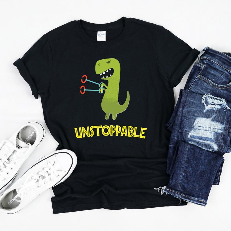 Unstoppable T-Rex, T-Rex Shirt, Tyrannosaurus Rex Tee #tyrannosaurusrex