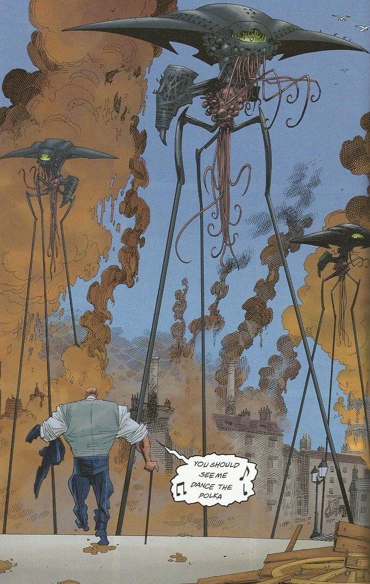 Uncategorized Tripod Books mollusc tripods the league of extraordinary gentlemen pinterest tripods