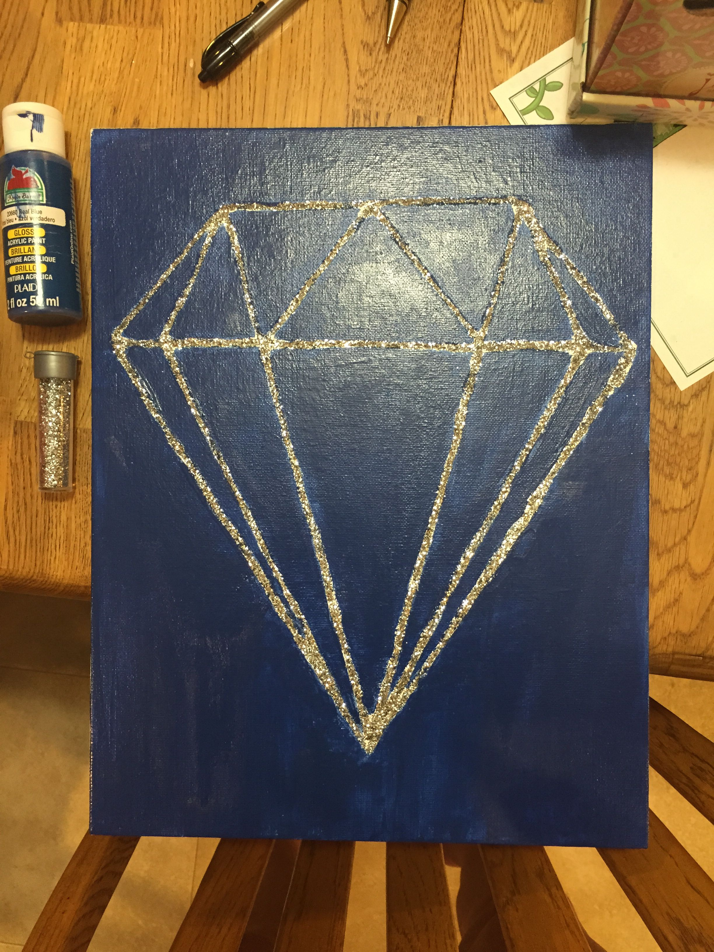 Canvas art diy diamond glitter diy canvas art diamond