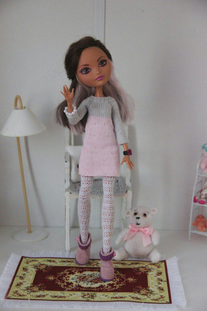 Вязание для кукол   Вязаные куклы, Куклы, Барби