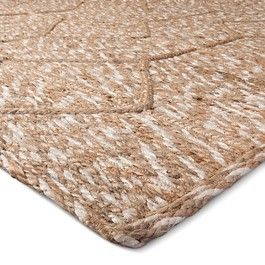 Mudhut™ Jute Braided Flatweave Area Rug - Tan