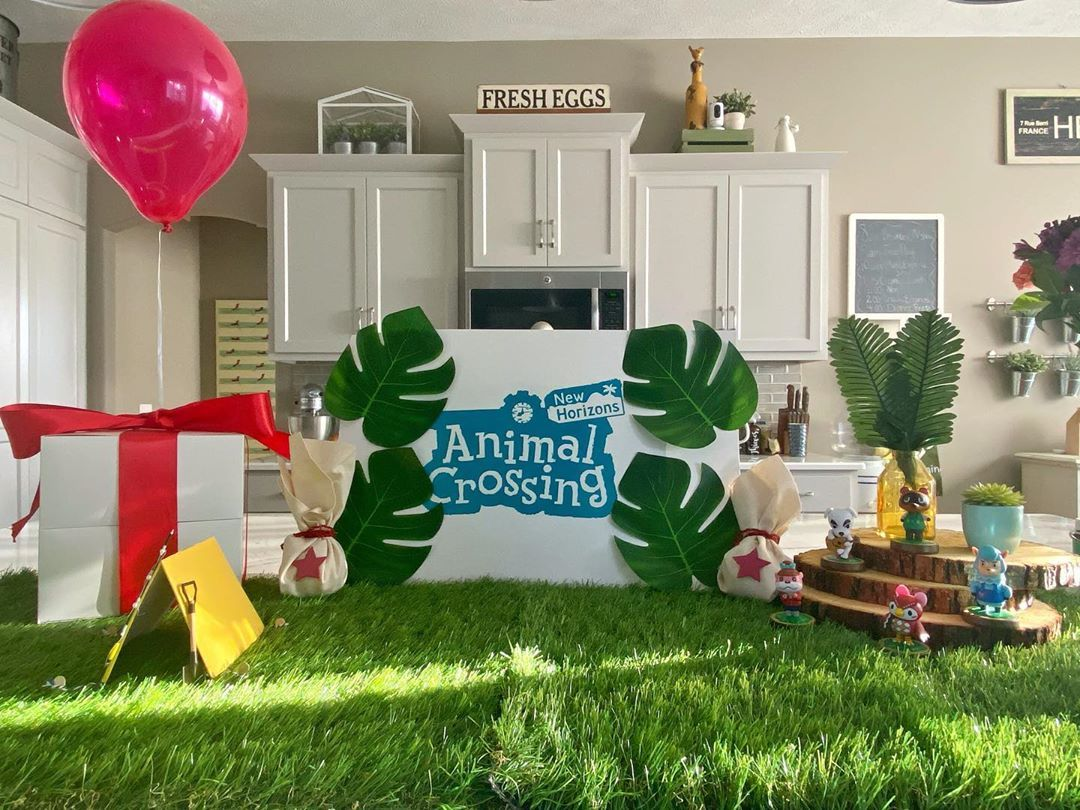Animal crossing birthday party is fun for all ages check