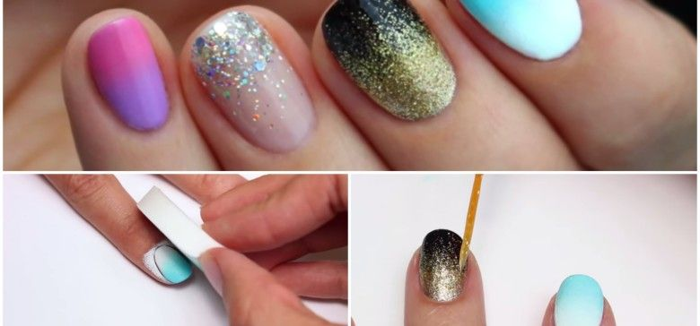 4 clever ways to diy ombre nails diy ombre ombre and clever ombre 4 clever ways to diy ombre nails solutioingenieria Images