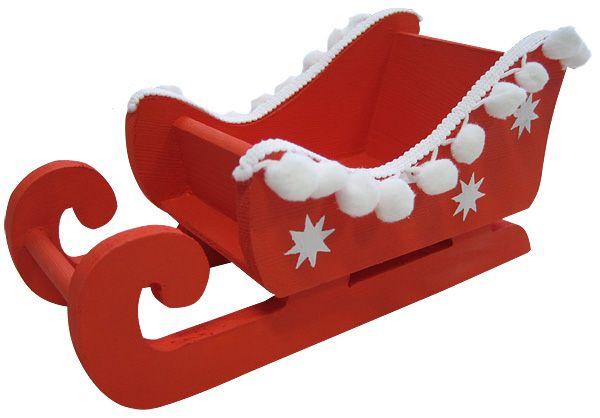 bastelanleitung weihnachtlicher schlitten aus holz. Black Bedroom Furniture Sets. Home Design Ideas